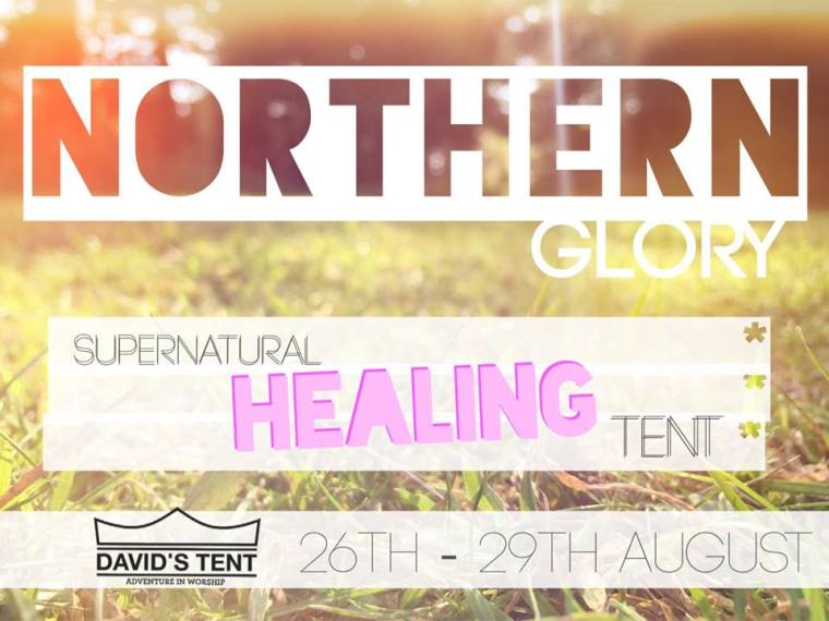 northern glory healing tent